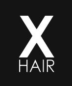 X HAIR Logo
